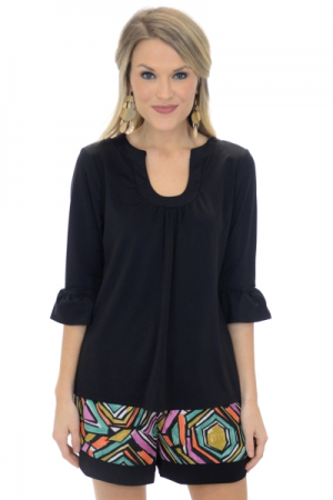 Liquid Heaven Top, Black