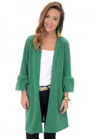 Gianna Sweater Jacket, Green