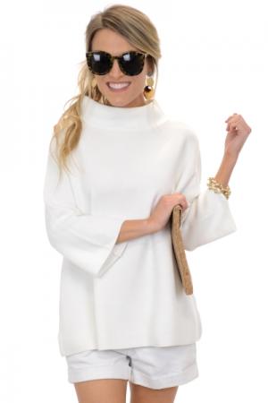 Audrey Sweater, Ivory