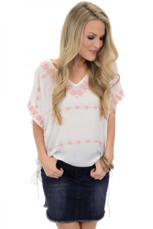 Shirred Sides Top