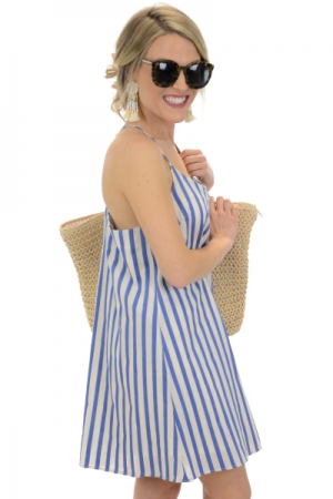 Siene Striped Dress