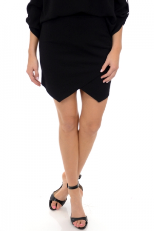 Lola Envelope Skirt, Black