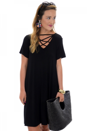 Harper Dress, Black