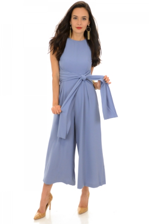 Mia Jumpsuit, Powder Blue