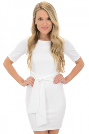 Madeline Dress, White