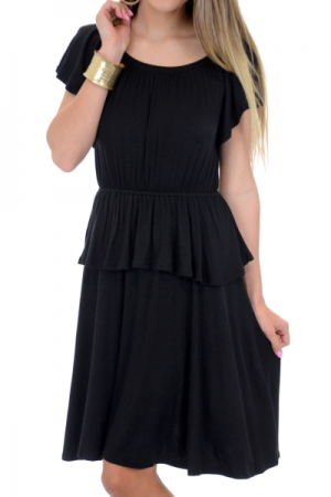 Enchanted Dress, Black