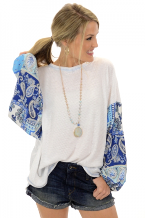 Sweet Sleeves Top