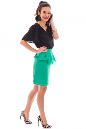 Greener Grass Skirt