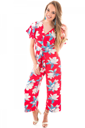 Keep Blooming Jumpsuit