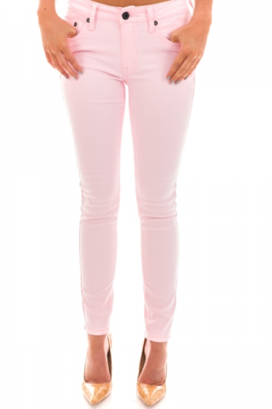 Mid Rise Skinny, Pink