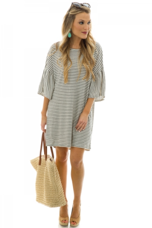 Adelyn Striped Dress