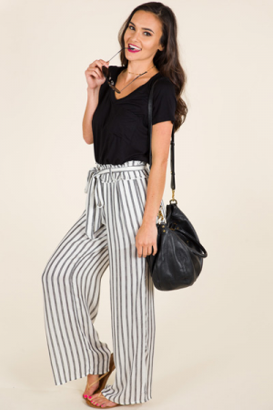Striped Scene Pants