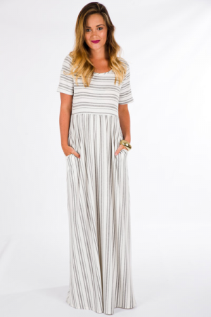 Rawley Striped Maxi