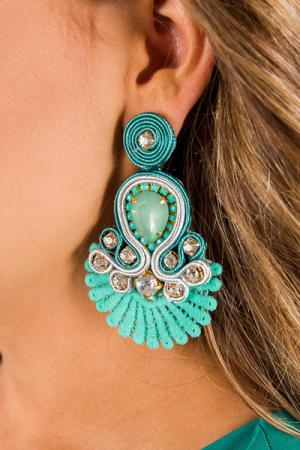 Sammy Earrings Turquoise