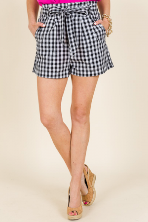 Summer Lovin Shorts, Gingham