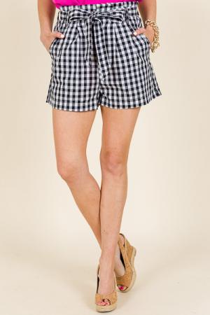 Summer Lovin Shorts, Gingham