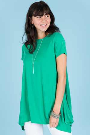 Weekend Vibes Tunic, Green