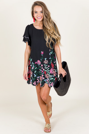Bottom Blooms Dress