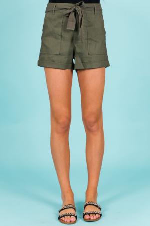 Military Shorts, Olive