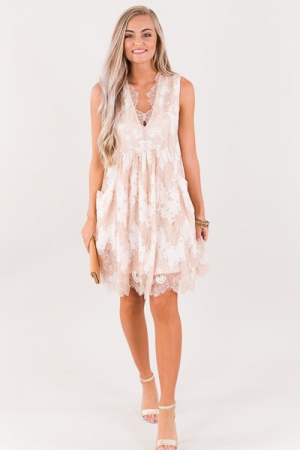 Rose' Lace Dress