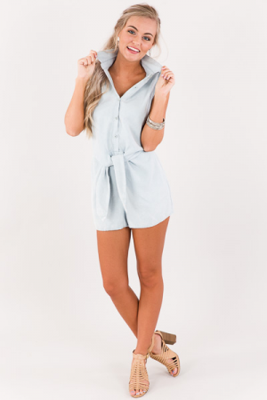 Washed Ashore Romper