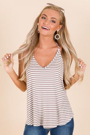 T-Back Stripe Cami