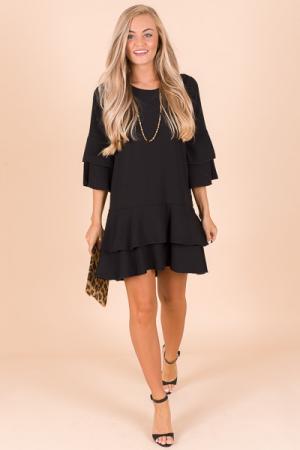 Quinn Dress, Black