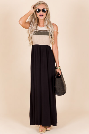 Stripe a Pose Maxi
