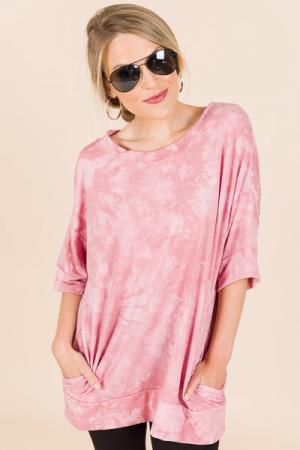 Kristen Tunic, Pink
