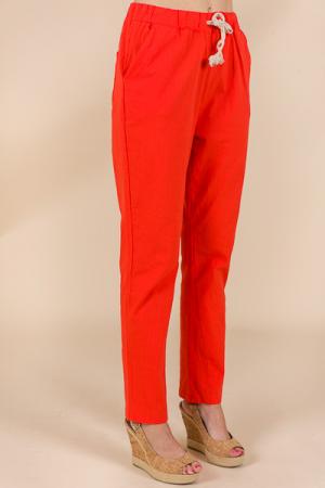 Good Vibes Pants, Orange