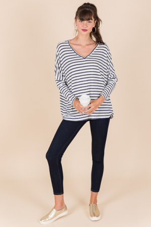 Crazy Soft Stripe Top