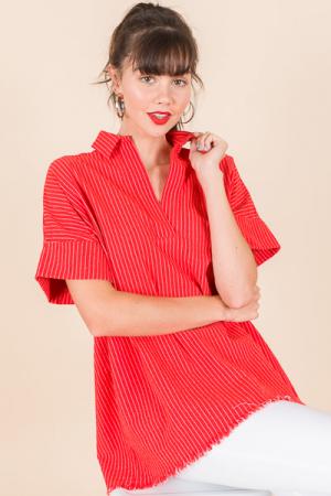 Bianca Tunic, Red