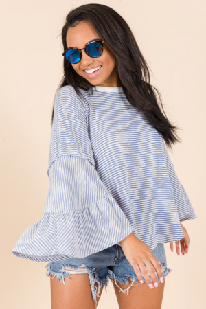 Seashore Striped Top