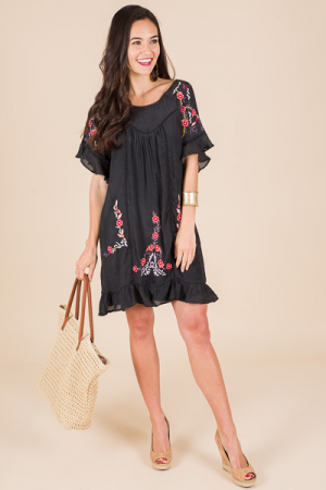Virginia Dress, Black
