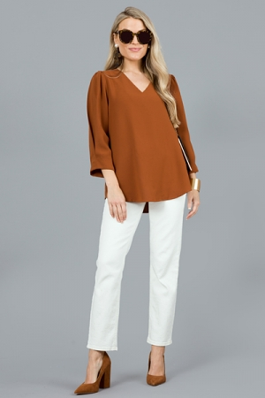 Christy Blouse, Toffee