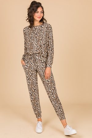 Leopard Joggers Set