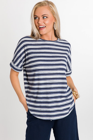 Blue Striped Thermal