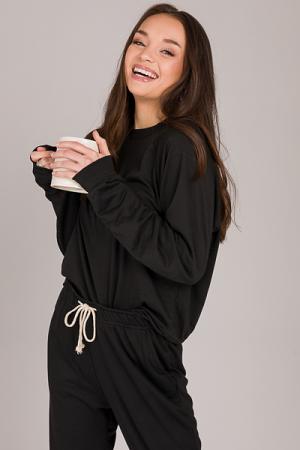 Kayla Jogger Set, Black
