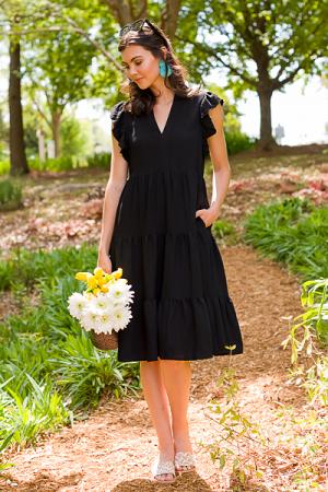 Mid Way Dress, Black
