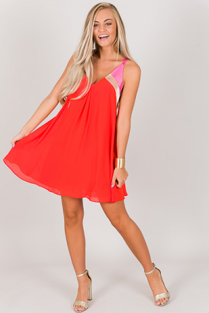 Emma Colorblock Dress