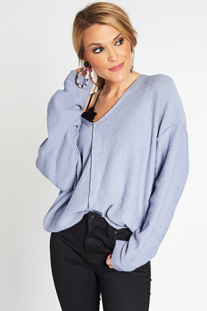 Classic Love Sweater, Blue