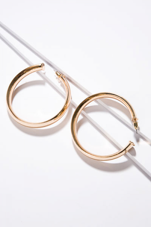 Bold and Gold Hoop