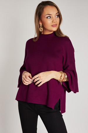 Love Struck Sweater, Plum