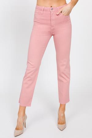 Classic Straight Jeans, Blush