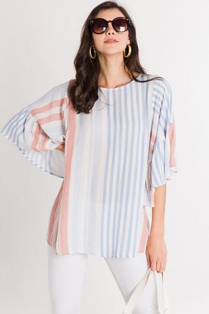 April Stripes Tunic