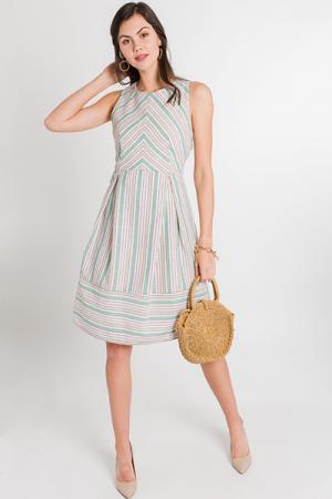 Strawberry Mint Dress