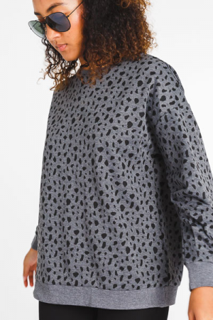 Grey Dalmation Sweatshirt