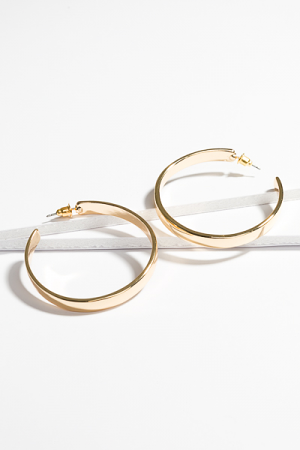 THE Gold Hoop, Polished