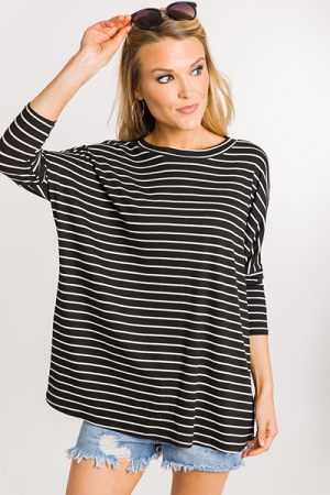 Road Block Ribbed Top