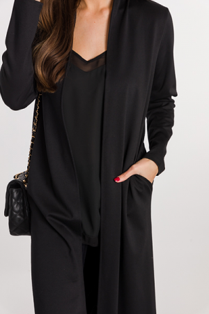 All Occasions Duster, Black